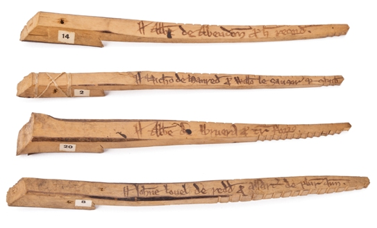 What tally sticks tell us about how money works