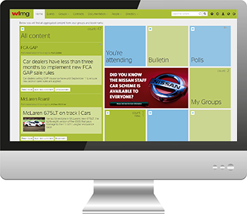 Hub Intranet site